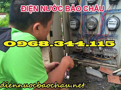 Thợ sửa chữa điện nước tại Mễ Trì