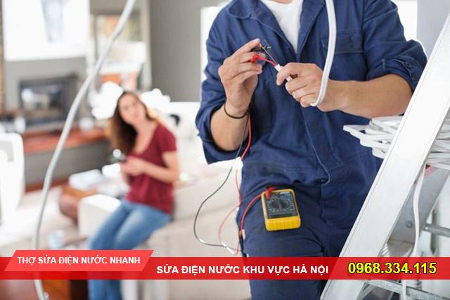 Thợ sửa điện nước quận Long Biên