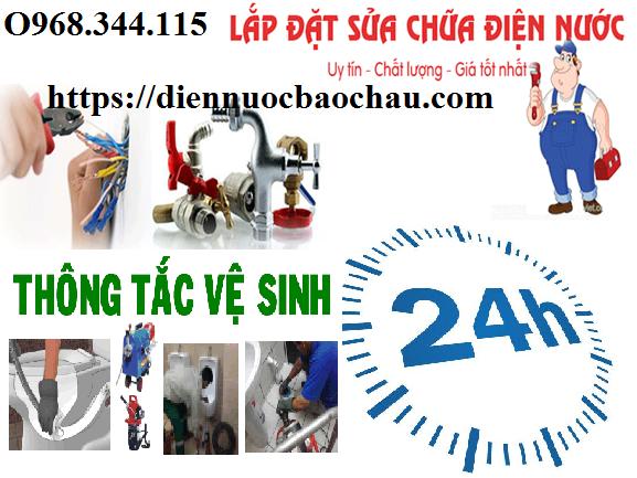 sửa chữa điện nước tại Ba La