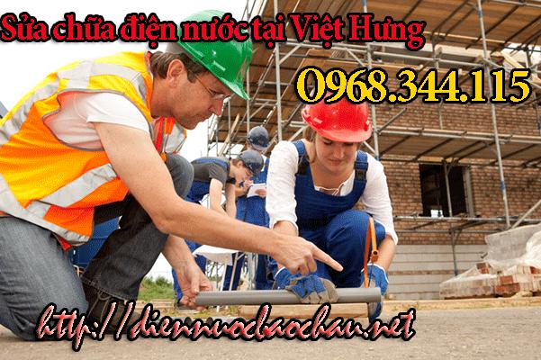 Thợ sửa chữa điện nước tại phường Việt Hưng